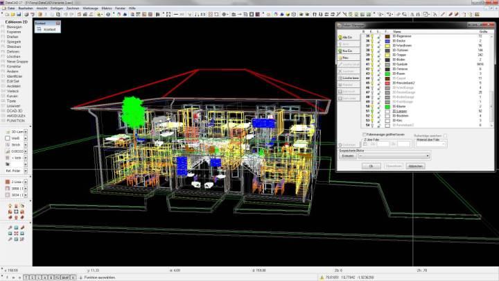 preiswertes 2d 3d architektur programm datacad lt datacad gmbh. Black Bedroom Furniture Sets. Home Design Ideas